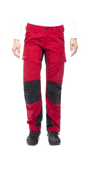 Lundhags Authentic - Pantalones de Trekking Mujer - rojo